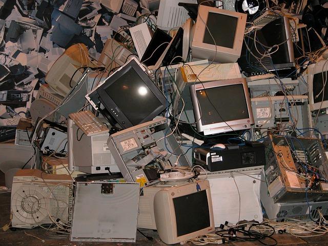 reciclaje de aparatos electrónicos