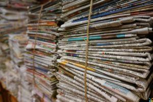 Papelera reciclaje oficina en Barcelona